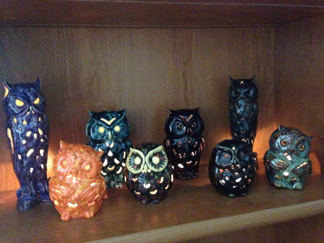 Hoot tea light
