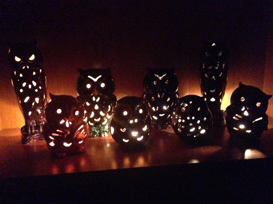 Owl Tea Lights